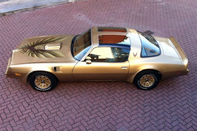 1978 Pontiac Trans Am Gold Y88